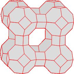 Zeolith A-Stuktur