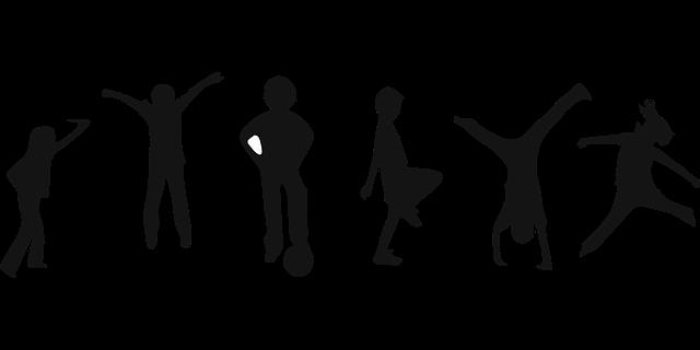 Spielende Kinder - Quelle: Pixabay