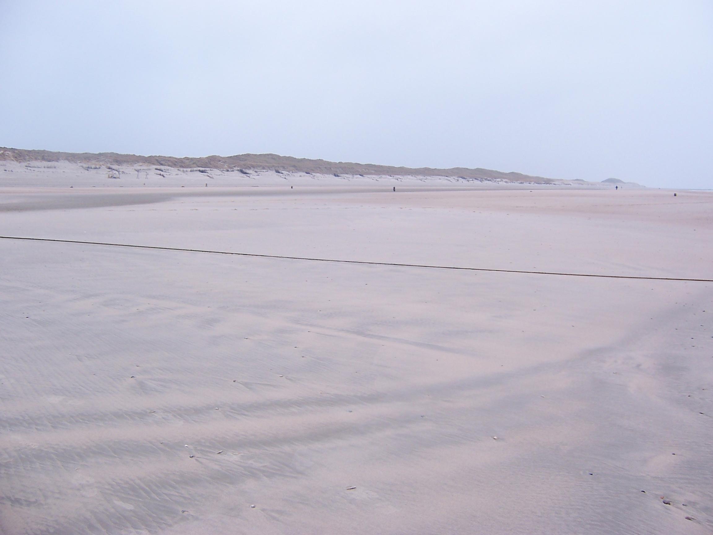 Sandstrand auf Norderney © M. Rüter