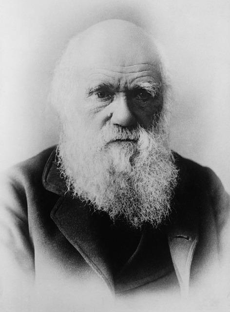 Charles Darwin - Quelle: Pixabay
