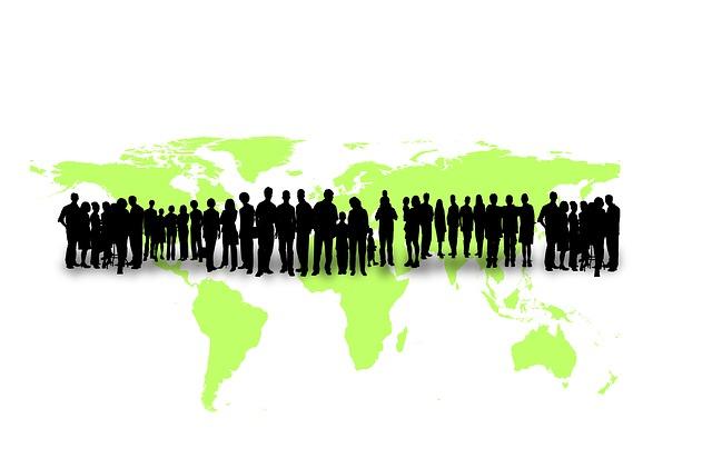 Anstieg der Weltbevölkerung - Quelle: Pixabay