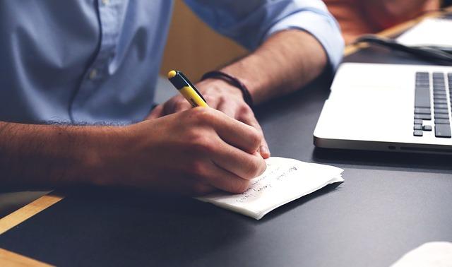 Businessplan schreiben - Quelle: Pixabay