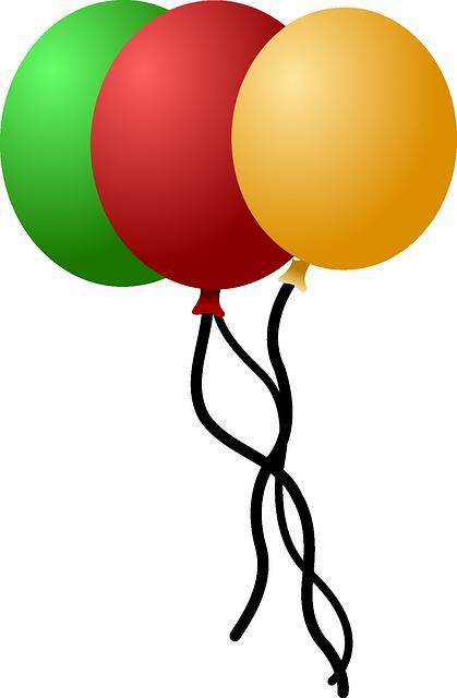 Kein Kindergeburtstag ohne Luftballons - Quelle: Pixabay