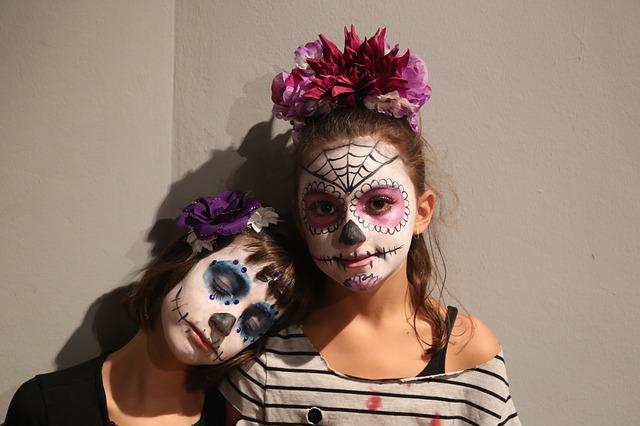 Kostüme zum Tag der Toten (día de los muertos) - Quelle: Pixabay