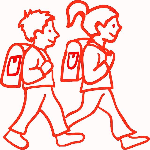 Schulkinder - Quelle: Pixabay
