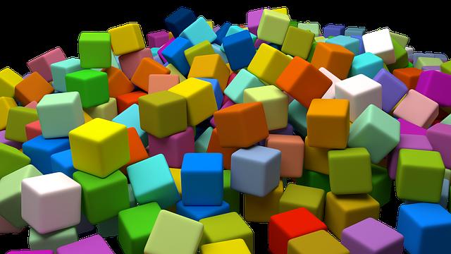 Spielmaterial sollte zur Kreativität anregen - Quelle: Pixabay