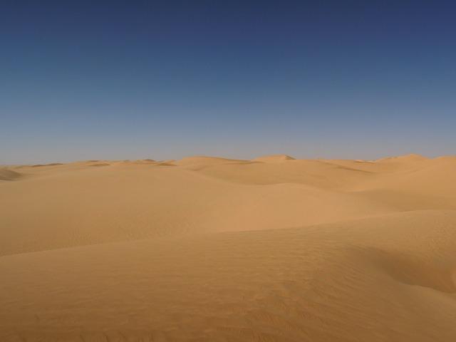 Sandwüste - Quelle: Pixabay