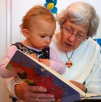 Kinder lieben Geschichten - Quelle: Pixabay