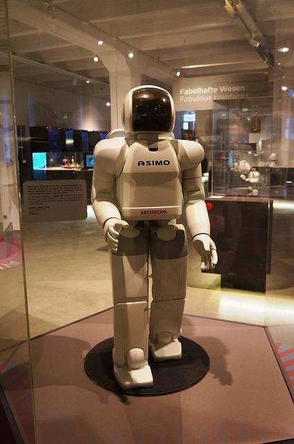 """Roboter """"Asimov"""" - Quelle: Pixabay"""