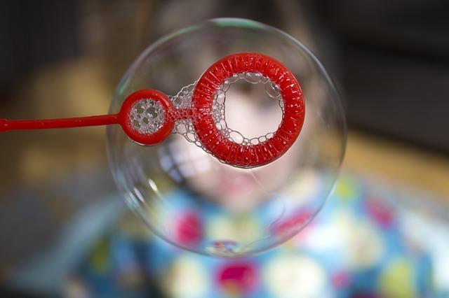 Seifenblasen - selber machen - Quelle: Pixabay