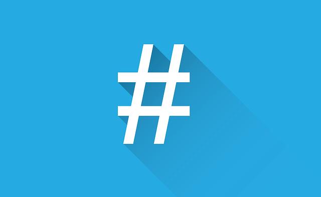 Hashtag - Quelle: Pixabay